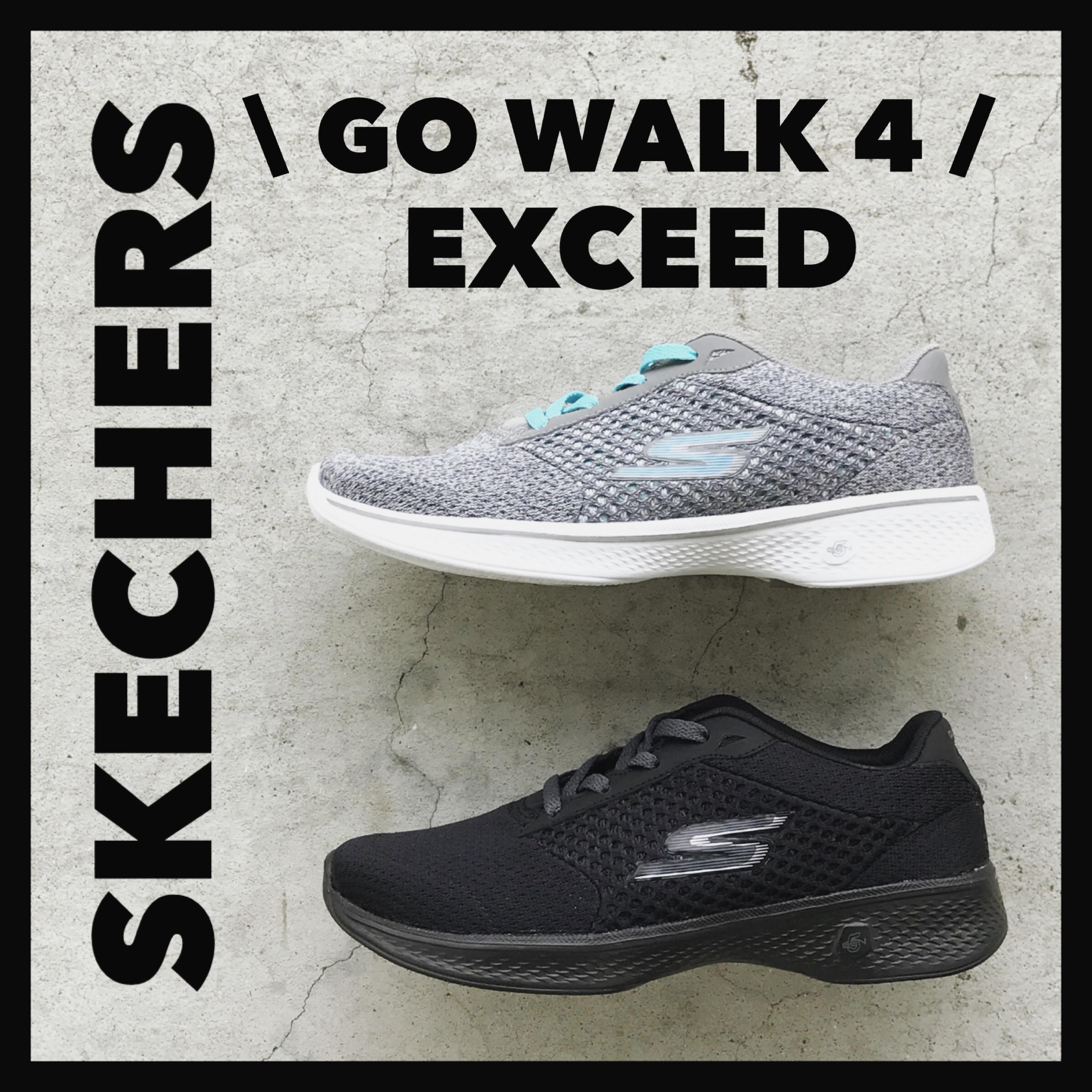 歩!SKECHERS GO WALK 4